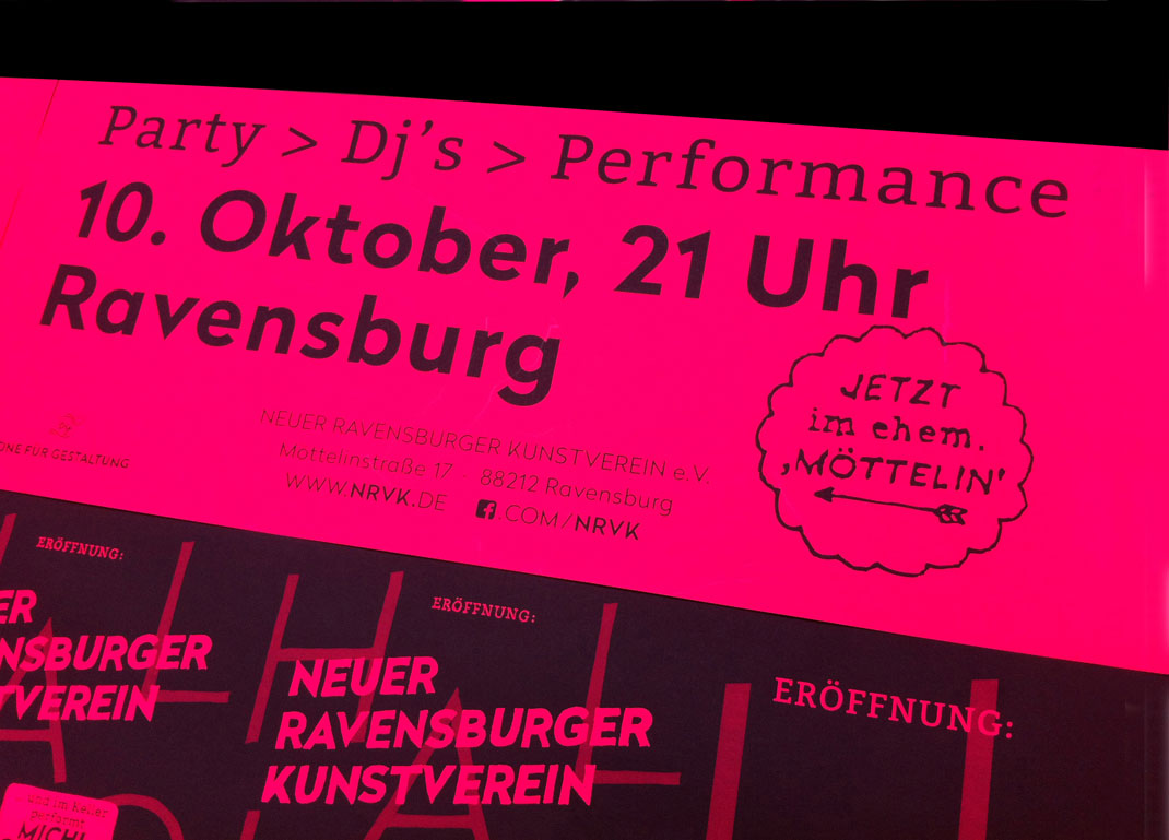 NRVK Einladung Party am 10. Oktober 2015