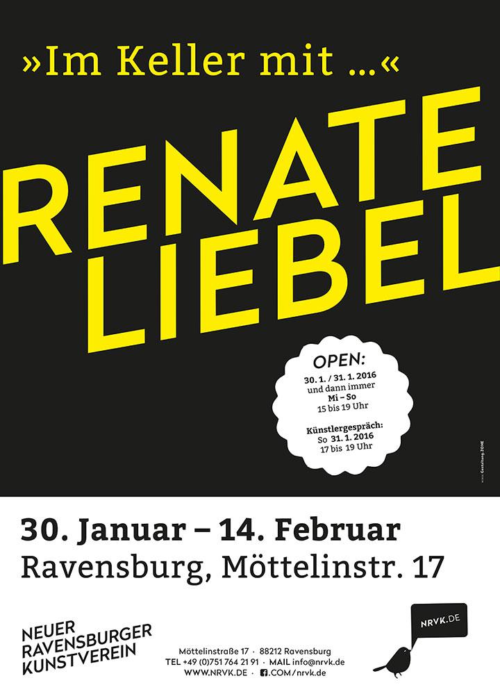 Ausstellung Neuer Kunstverein Ravensburg: Im Keller mit Renate Liebel