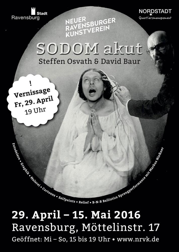 Im Keller #4: Ausstellung des Neuen Ravensburger Kunstvereins mit Steffen Osvath und David Bauer