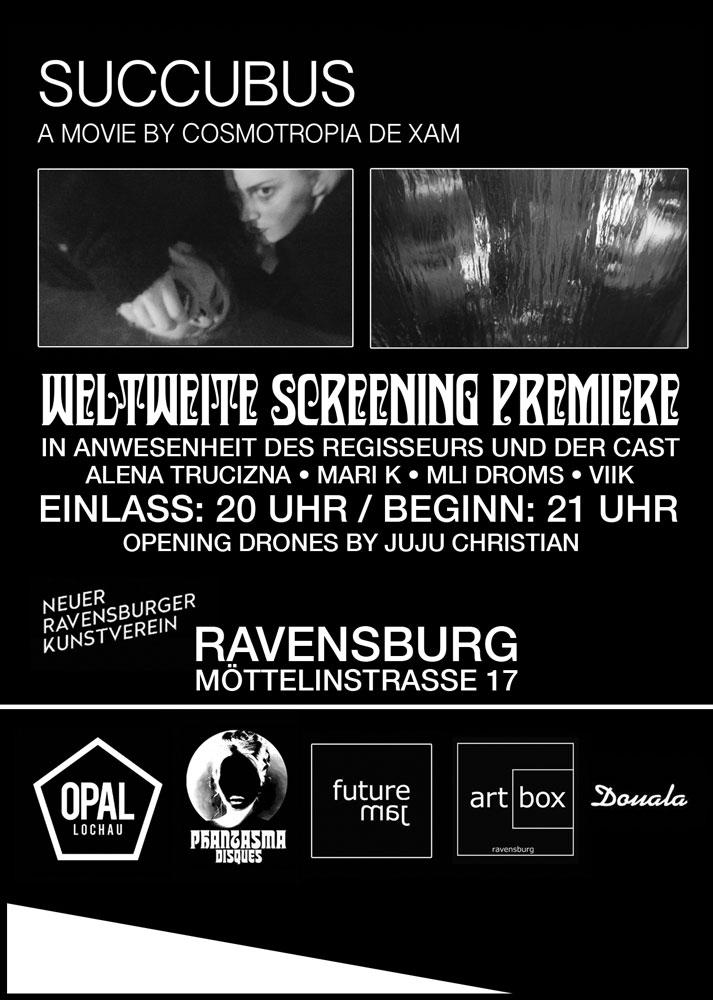 Succubus Filmpremiere Plakat