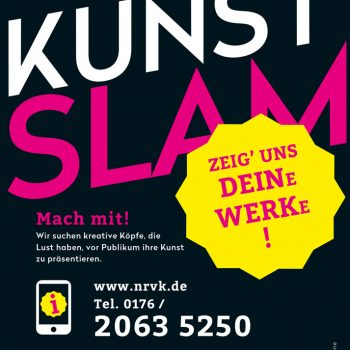 NRVK Kunst Slam - Mach mit und zeig uns Deine Werke