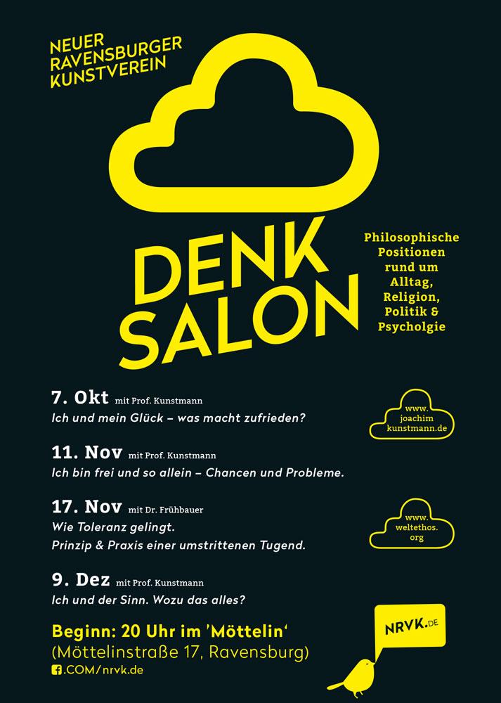 Denk Salon neue philosophische Veranstaltungsreihe im NRVK