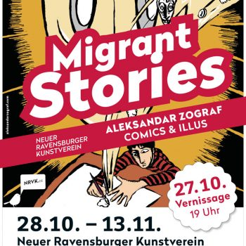Migrant Stories - Aleksandar Zograf - Plakat