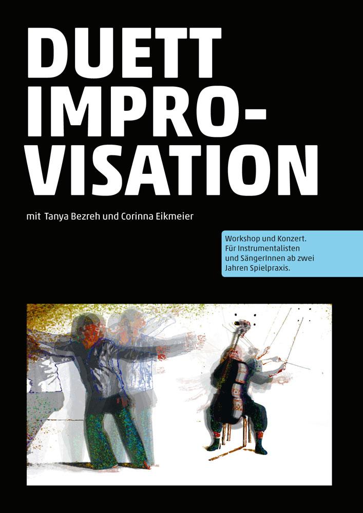 Kursprogramm: Duett Improvisation mit mit Tanya Bezreh und Corinna Eikmeier