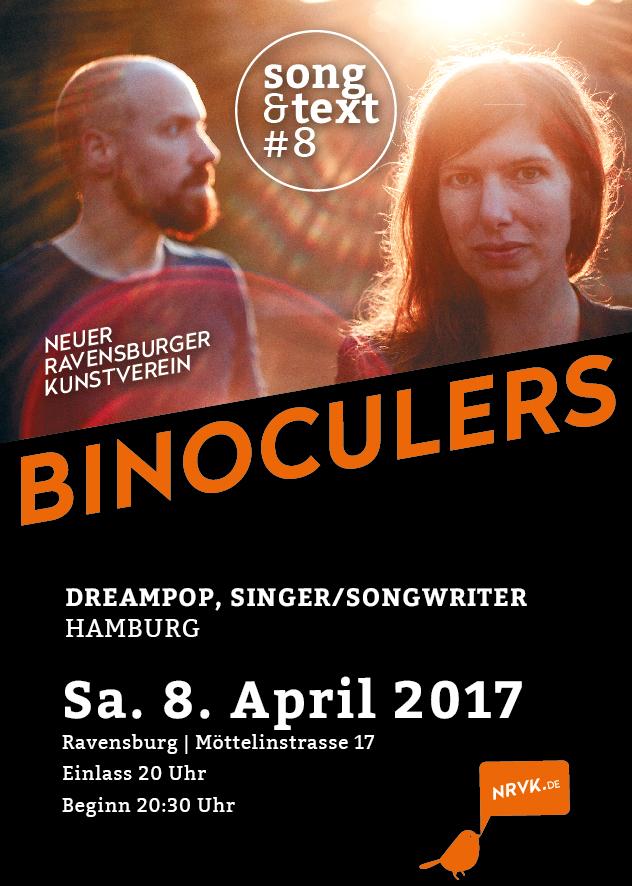 Song und Text #08 mit den Binoculars, Dreampop, Singer/Songwriter