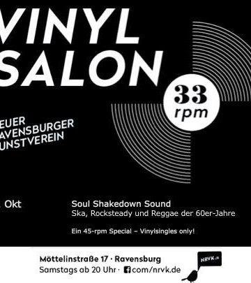33 rpm – Der Vinylsalon: Soul Shakedown Sound