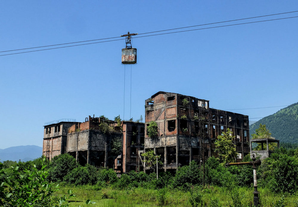 NRVK Ausstellung - Happy Dystopia - Ioanna Sakellaraki –Beautiful Terrible Ruins