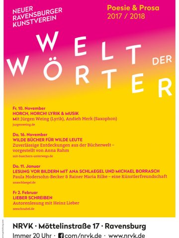 Welt der Wörter Herbst/Winter 2017