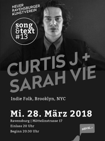 Song und Text #13 - Curtis J + Sarah Vie