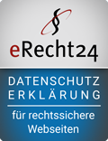 Datenschutzerklärung generiert durch eRecht24