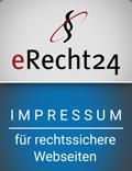 Impressum generiert durch eRecht24
