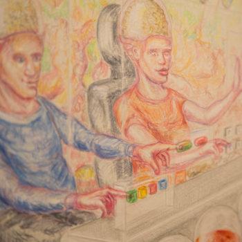 Einblicke Ausstellung Achim Stiermann Happy Dystopia #6