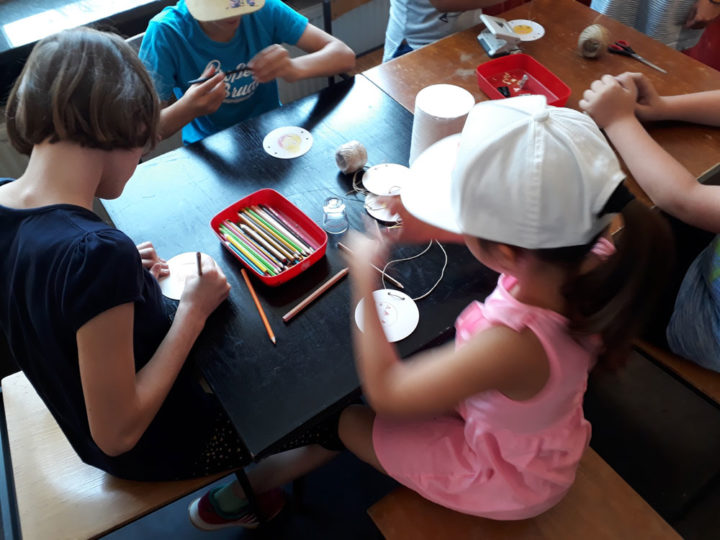 Kinderprogramm: Schüler besuchen NRVK Ausstellung