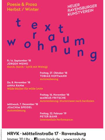 Textraumwohnung mit Jürgen Weing