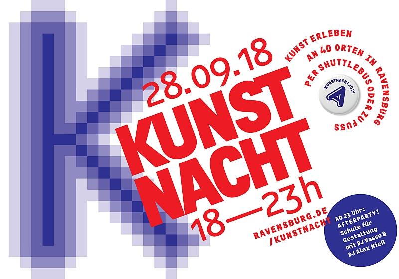 Kunstnacht Ravensburg am 28.09.2018 von 18-23 Uhr
