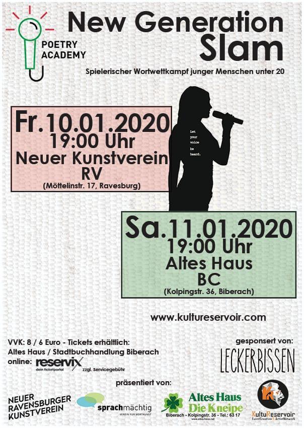 Poetry Slam im NRVK