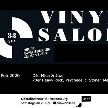 Vinylsalon mit DJs Mica & Jüz