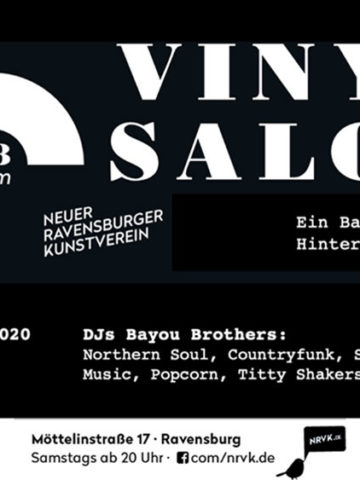 Vinyl Salon im Möttelin 33rpm mit den DJs Bayou Brothers