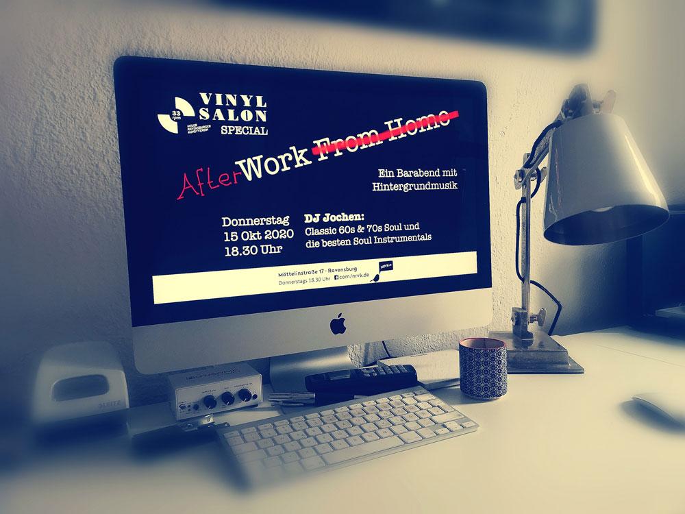 Neues Vinylsalon Afterwork Programm